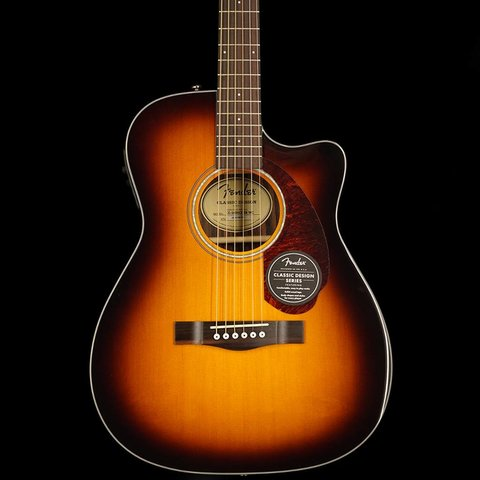 Fender CC-140SCE with Case, Sunburst