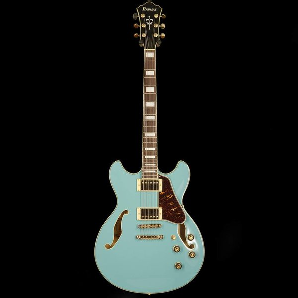 Ibanez Ibanez AS73GMTB AS Artcore 6str Electric Guitar - Mint Blue