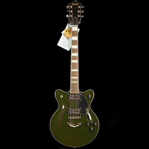 Gretsch G2655 Streamliner Center Block Jr Double Cutaway Torino Green