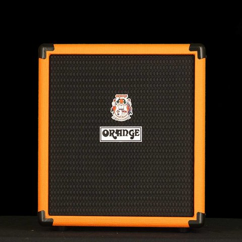"Orange Crush Bass 25 watt Active EQ Para Mid 8"" speaker CabSim Out Aux In Tuner"