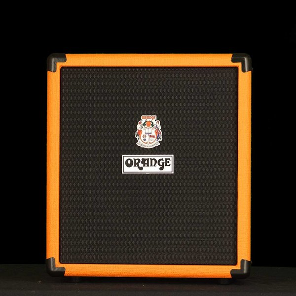"Orange Orange Crush Bass 25 watt Active EQ Para Mid 8"" speaker CabSim Out Aux In Tuner"