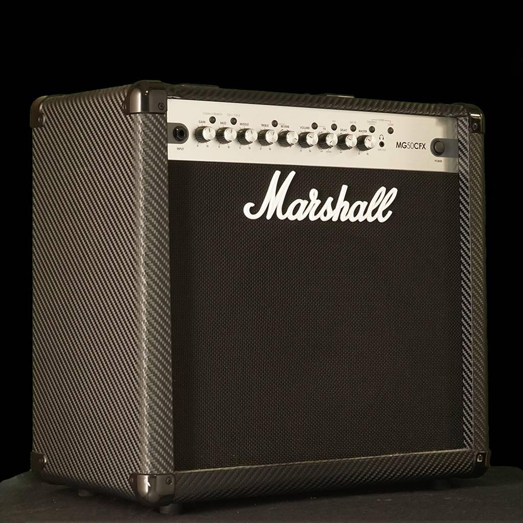 Marshall Mg50cfx 50 Watt 1x12 Digital Combo Amp Melody Watts Audio Power Amplifier