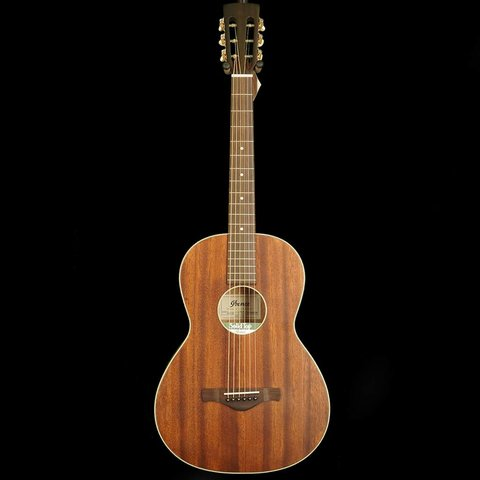 Ibanez AVN5OPN Artwood Vintage Parlor Guitar, Open Pore Mahogany