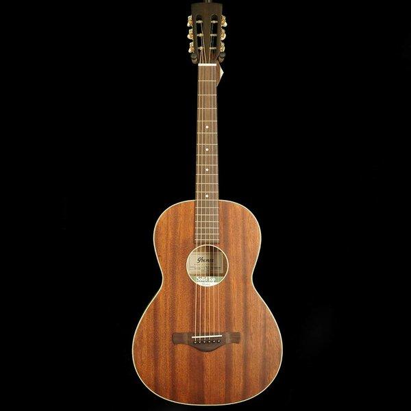 Ibanez Ibanez AVN5OPN Artwood Vintage Parlor Guitar, Open Pore Mahogany