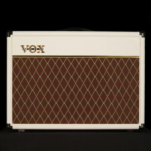 "Vox Vox AC15C1WB Limited Edition 15W 1 x 12"" Guitar Combo Amplifier, White Bronco"