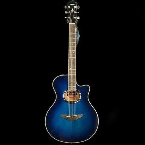 Yamaha APX500III OBB Oriental Blue Burst Thinline A/E