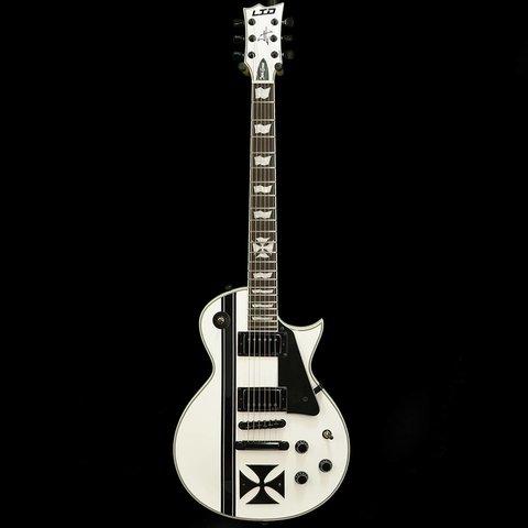 ESP LTD IRON CROSS James Hetfield Signature Series Electric Guitar Snow White