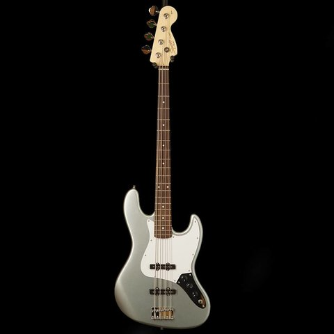 Affinity Jazz Bass, Rosewood Fingerboard, Slick Silver