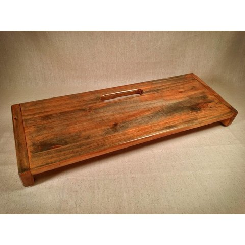 KY Hot Brown Pedalboards Rough Rider Large Rustic Gingersnap
