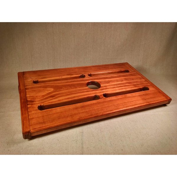 KY Hot Brown Pedalboards KY Hot Brown Pedalboards Rough Rider XL American Walnut