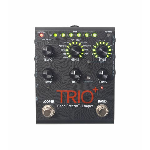 DigiTech Trio+ Plus Band Creator Pedal w/ Guitar Looping