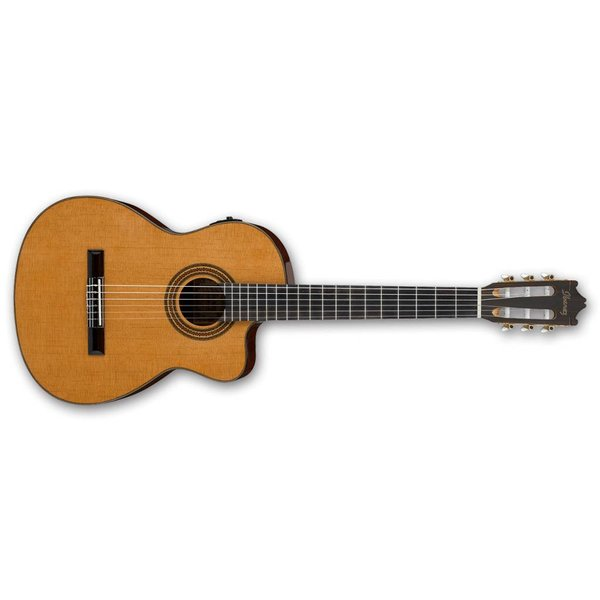Ibanez Ibanez GA Series GA6CE Classical Cutaway Acoustic-Electric Guitar Natural
