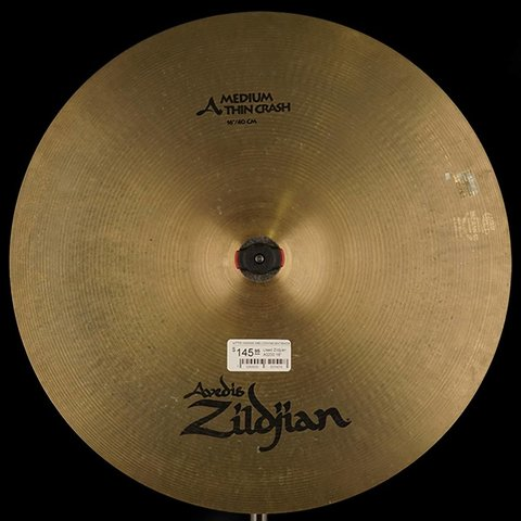 "Used Zildjian A0230 16"" Medium Thin Crash"