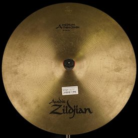 "Zildjian Used Zildjian A0231 17"" Medium Thin Crash"