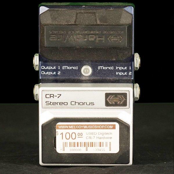 Melody Music Shop LLC Used Digitech CR-7 Hardwire Stereo Chorus