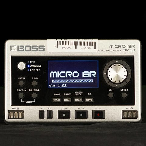 Used Boss Micro BR-80 Digital Recorder