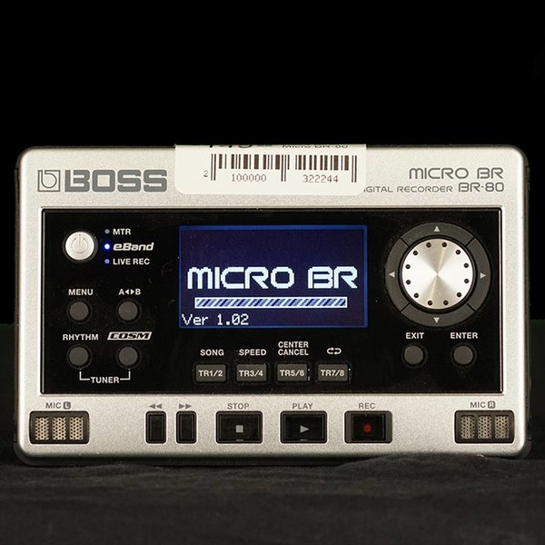 Boss Used Boss Micro BR-80 Digital Recorder