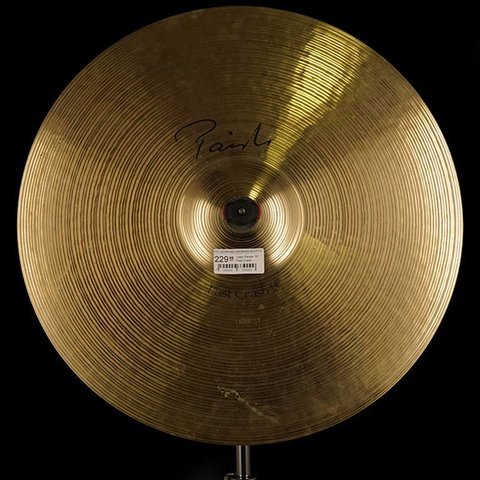 "Used Paiste 18"" Fast Crash"
