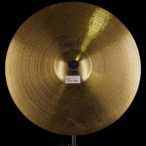 "Paiste Used Paiste 18"" Fast Crash"