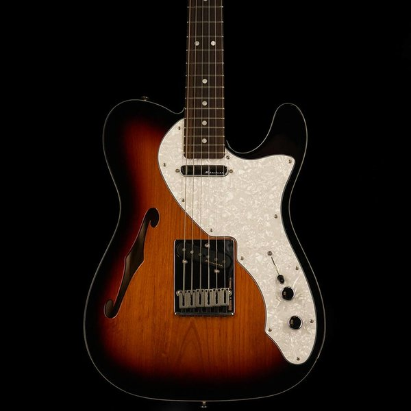 Fender Deluxe Telecaster Thinline, Rosewood Fingerboard, 3-Color Sunburst