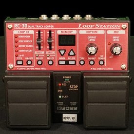 Melody Music Shop LLC Used Boss RC30 Loop Station