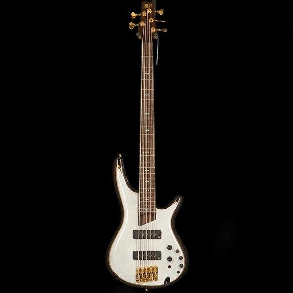 Ibanez Ibanez SR1405EGWH SR Premium 5str Electric Bass - Glacial White