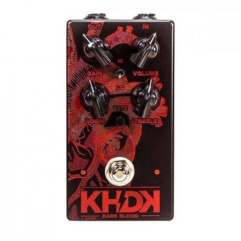 KHDK Kirk Hammett Signature Dark Blood Handmade Overdrive