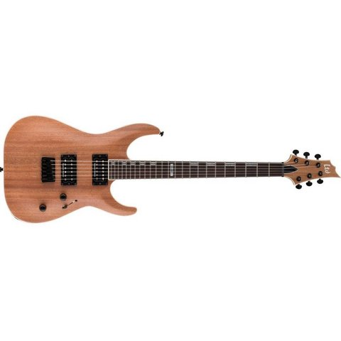 ESP LTD LH401MNS H-401 Electric Guitar Natural Satin Mahogany