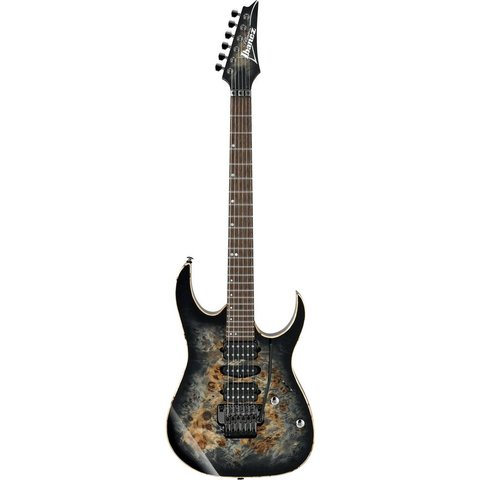 Ibanez RG1070PBZCKB RG Premium 6str Electric Guitar w/Case Charcoal Black Burst