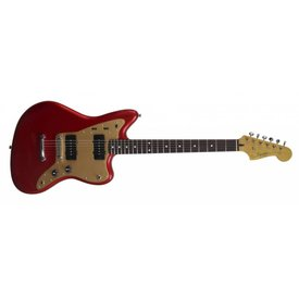 Squier Squier Deluxe Jazzmaster, Rosewood Fingerboard, Candy Apple Red