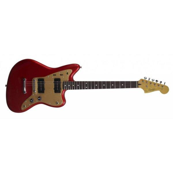 Squier Squier Deluxe Jazzmaster, Rosewood Fingerboard, Candy Apple Red