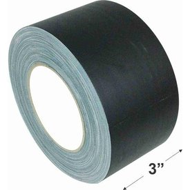 "American Recorder Technologies 3"" Gaffers Tape, Cable Grade, 45 Yard, Black"