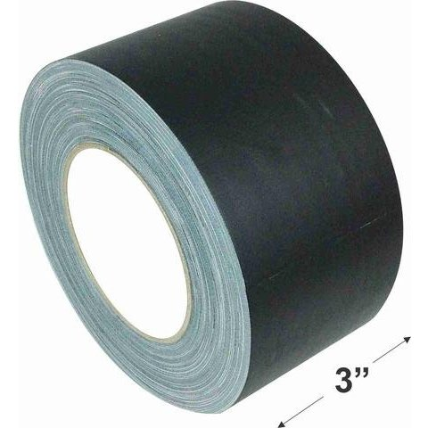 "3"" Gaffers Tape, Cable Grade, 45 Yard, Black"