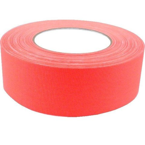 "2"" Gaffers Tape, Cable Grade, 50 Yard, Neon Orange"