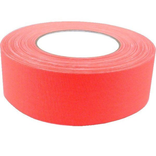 "American Recorder Technologies 2"" Gaffers Tape, Cable Grade, 50 Yard, Neon Orange"