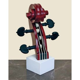 Music Treasures Co. Violin Headstock Sculpture