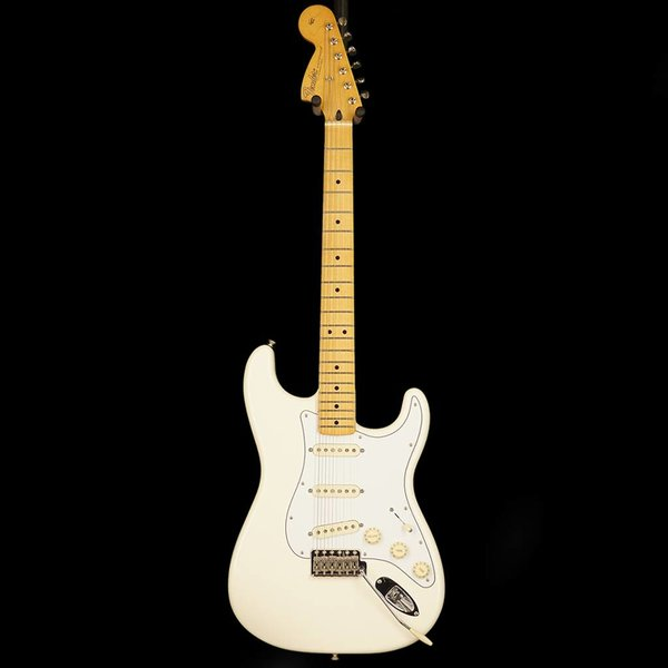 Fender Jimi Hendrix Stratocaster, Maple Fingerboard, Olympic White