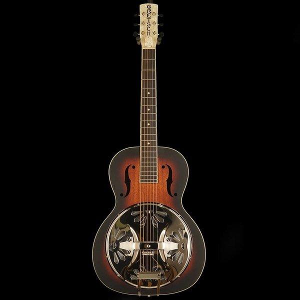 Gretsch Guitars Gretsch G9220 Bobtail Round-Neck A.E. Fishman Resonator Pickup Sunburst