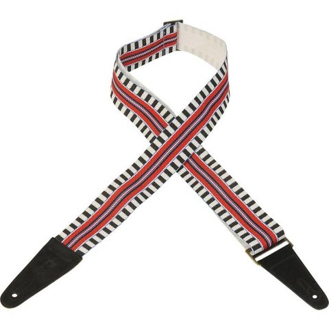 "Levy's MC8ARZ-004 2"" Polyester Guitar Strap w/ Patterns"