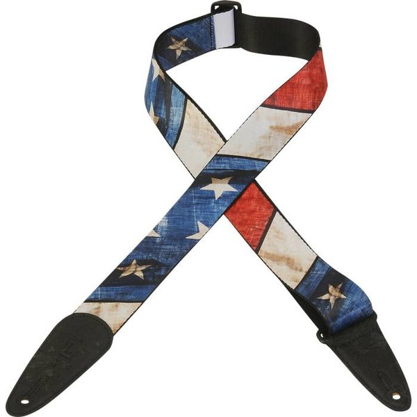 """Levy's Leathers Levy's MDP-US 2"""" Polyester Sublimation Printed Guitar Strap"""