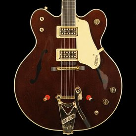 Gretsch Guitars Gretsch G6122T-62 Vintage Select Edition '62 Chet Atkins Country Gentleman Hollow Body with Bigsby, TV Jones, Walnut Stain