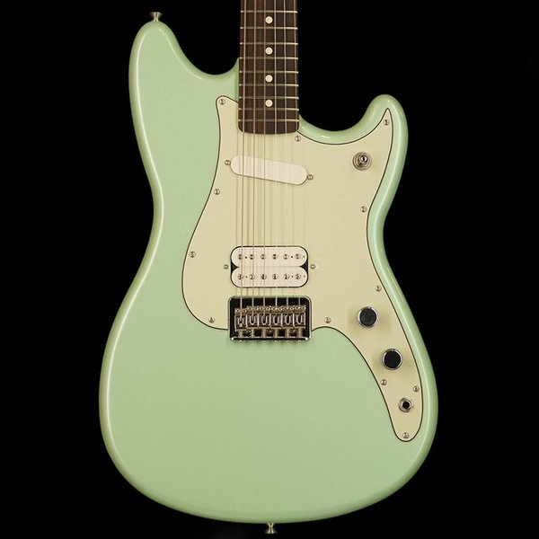 Fender Duo-Sonic HS, Rosewood Fingerboard, Surf Green