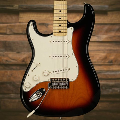Standard Stratocaster Left-Handed, Maple Fingerboard, Brown Sunburst