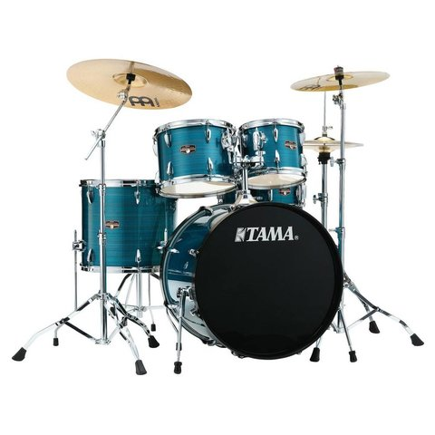 Tama IP52NCHLB Imperialstar w/Cymbal Hairline Blue