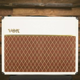 Vox Vox AC30C2WB Limited Edition 30W 2 x 12'' Guitar Combo Amplifier, White Bronco