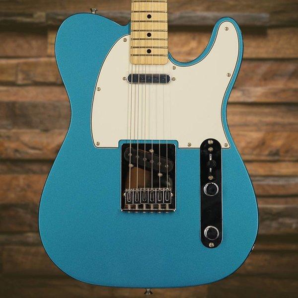 Fender Standard Telecaster, Maple Fingerboard, Lake Placid Blue