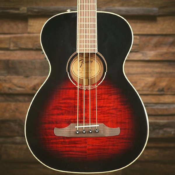 Fender T-Bucket 300E Bass, Rosewood Fingerboard, Trans Cherry Burst