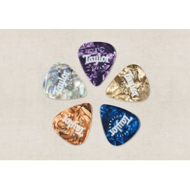 Taylor Taylor Picks, Marble Assortment, Med (10)