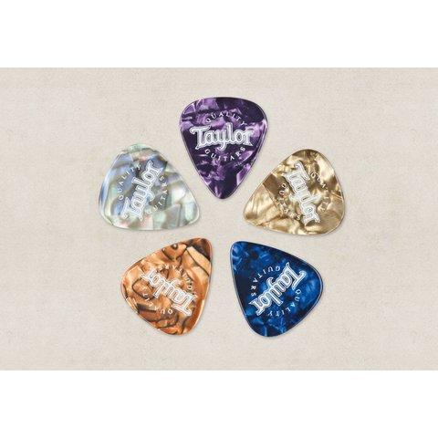 Taylor Picks, Marble Assortment, Med (10)