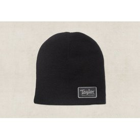 Taylor Taylor Beanie with Taylor Patch - Black 9""